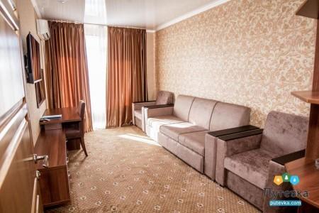 Делюкс 2-комнатный 2-местный , фото 4