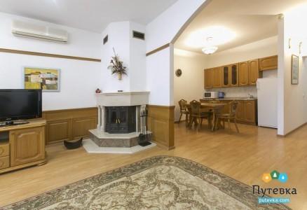 Люкс 1-местный 3-комнатный Suite с корпус 2, фото 3