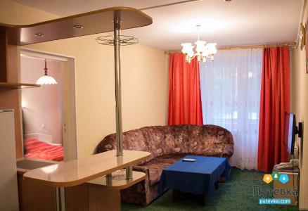 Люкс 2-местный 2-комнатный Luxe Double корпус 1, фото 2