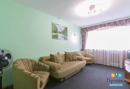 Люкс 2-местный 2-комнатный корпус 2, фото 3
