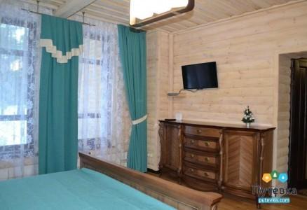 Люкс 2-местный 2-комнатный Коттедж 2-й этаж, фото 2