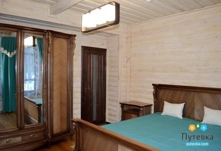 Люкс 2-местный 2-комнатный Коттедж 2-й этаж, фото 1