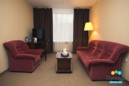 Люкс 2-местный 3-комнатный номер, фото 4
