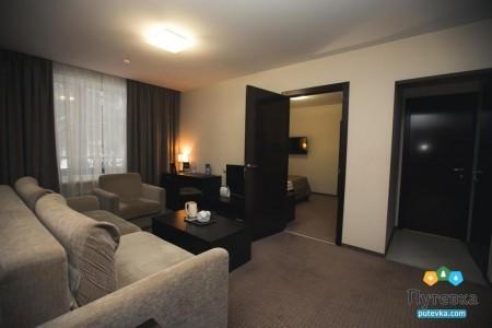 Люкс 2-местный 3-комнатный номер, фото 3