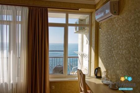 Стандарт 2-местный с видом на море, фото 2