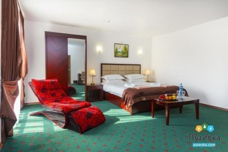 Люкс 2-местный 1-комнатный (вид на горы,5 этаж), фото 2
