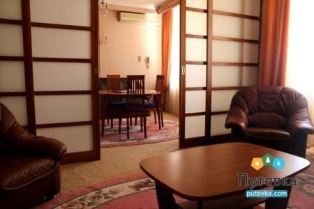 Апартамент 2-местный 2-комнатный (с сауной), фото 3