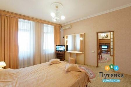 Апартамент 2-местный 2-комнатный (с сауной), фото 2
