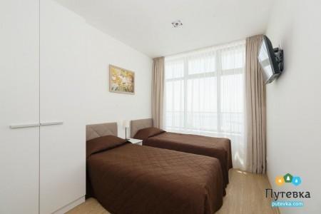 Апартаменты 4-местный 3-комнатный, фото 1