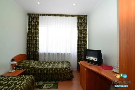 Номер 4-местный 2-комнатный блочного типа, фото 1