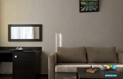 Полулюкс 2-местный 2-комнатный вид на горы, фото 3