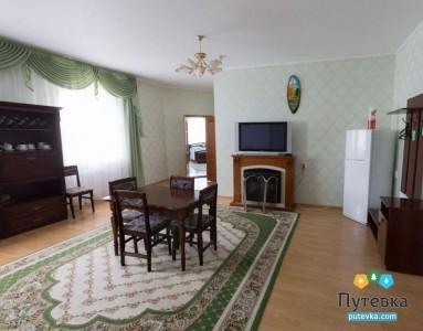 Люкс 2-местный 3-комнатный с сауной, фото 3