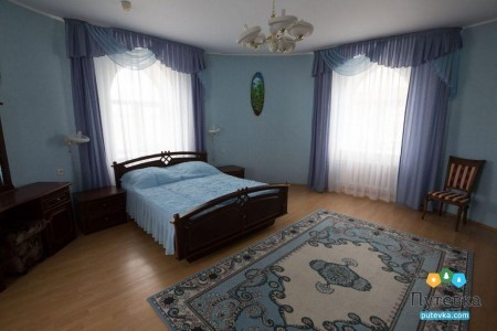 Люкс 2-местный 3-комнатный с сауной, фото 1