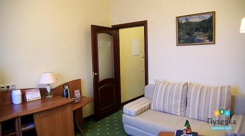 Люкс 2-местный 2-комнатный новый (солнечная сторона), фото 2