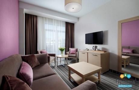 Люкс Премиум 2-местный 2-комнатный, фото 3