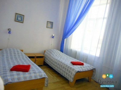 Стандарт 2-местный 1-комнатный с отдельными кроватями №11-14,16,21,22, фото 1