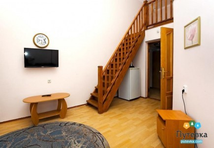 Семейный 3-местный 2-уровневый с балконом №1, фото 4