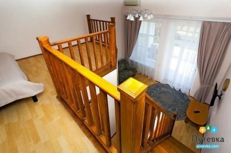 Семейный 3-местный 2-уровневый с балконом №1, фото 2