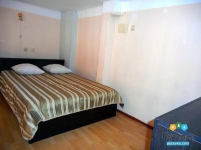 Повышенной комфортности 2-местный 2-уровневый с односпальными кроватями и дивано №6, фото 1