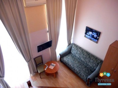 Повышенной комфортности 2-местный 2-уровневый с односпальными кроватями и дивано №6, фото 4