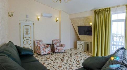 Люкс VIP 2-местный 2-комнатный корпус 3 (Валенсия), фото 4