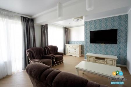 Люкс 2-местный 2-комнатный VIP , фото 8