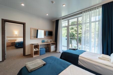 Улучшенный 2-местный 2-комнатный корпус Гермес, фото 3