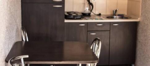 Стандартный номер с кухней с двумя односпальными кроватями, фото 2
