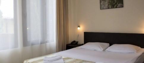 Стандартный номер с кухней с одной двуспальной кроватью, фото 1
