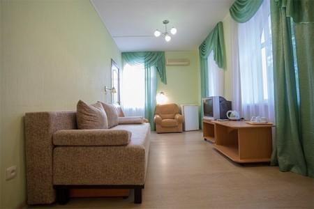 Улучшенный 2-местный 2-комнатный 2 этаж, корпус Диана, фото 3
