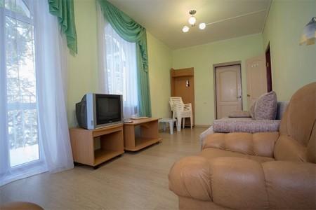 Улучшенный 2-местный 2-комнатный 2 этаж, корпус Диана, фото 5