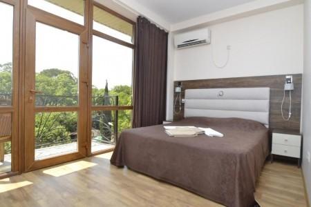 Стандартный 2-местный 1-комнатный с балконом , фото 1