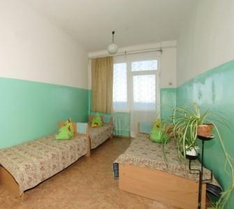 Эконом 3-местный с удобствами на этаже (корпус Климатопавильон), фото 1