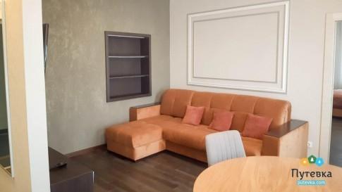 Апартаменты 2-местные 2-комнатный корпус 1, фото 2