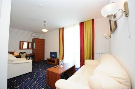 Люкс 2-местный 2-комнатный корпус Посейдон, фото 2