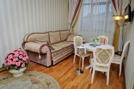 Люкс Романтический 2-местный 2-комнатный, фото 5