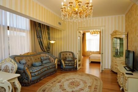 Люкс Золотой 4-местный 3-комнатный, фото 8